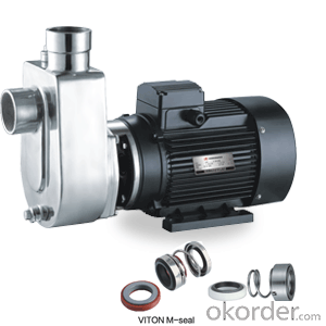 WB(S)/WBZ(S) Stainless Steel Corrosion-resistant Chemical Water Pump