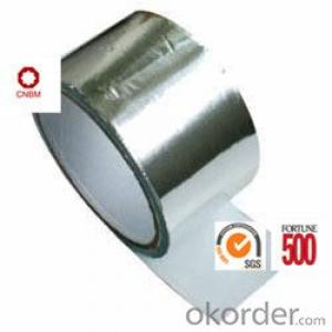 Aluminum Foil Tape Synthetic Rubber Based Without Release Paper