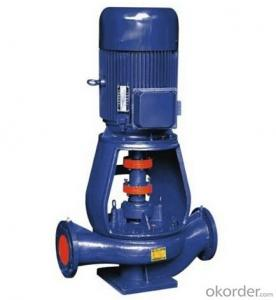 Demolished Vertical Pipeline Pump Model ISGB