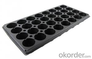 Plastic Seed Tray Plug Tray for Green House PS