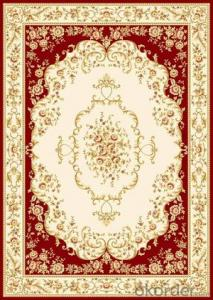 Viscose Carpet and Rug Wilton Beige Color  Machine Washable Carpet