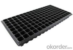 Plastic Seed Tray Plug Tray for Green House Tray Square Plug Tray