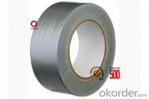 Cloth Tape Hot Melt Adhesive Silver Color All Size