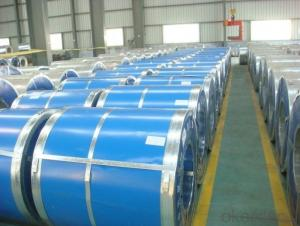 RAL Scale Z70 Prepainted Rolled Steel Coil for Construction Roofing