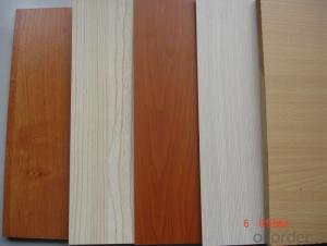 Melamine MDF Board / Laminated MDF Sheet /melamine mdf