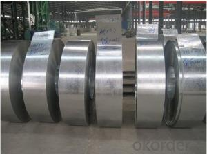 Galvanized Steel Strip and Coil with Width 650mm