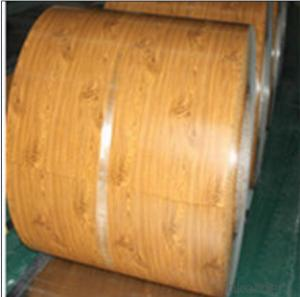Prepainted galvanized steel coil With bright wooden color