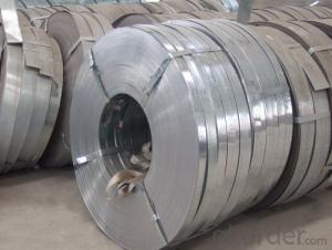 Galvanized Steel Strips with Width 610mm