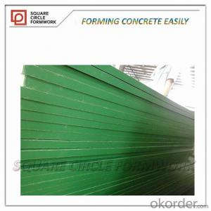 reusable plastic plywood for concrete forms