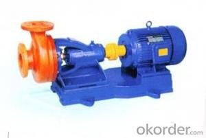 Glass Steel Centrifugal Pumps Model FS Glass Steel Centrifugal Pumps