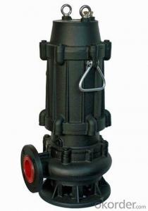 WQ Non-clogging Sewage Submersible Pump Cast Iron Pump