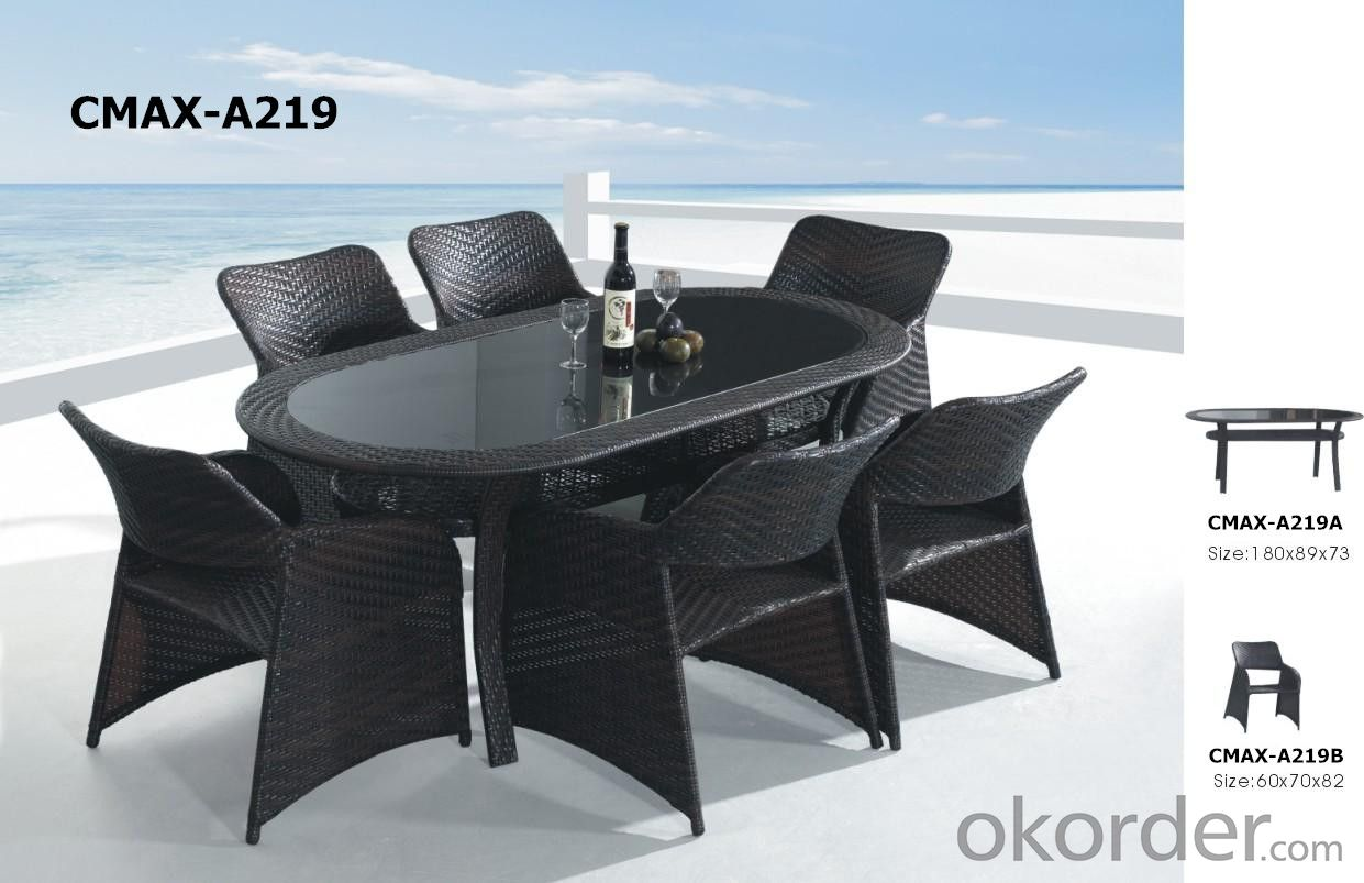 Rattan Outdoor Furniture Garden Sets Dinning Set CMAX-A221