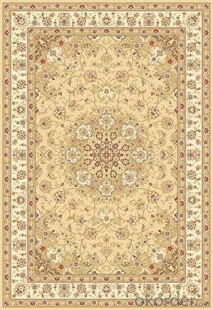 Viscose Wilton Carpet and Rug Beige Color from China Factory