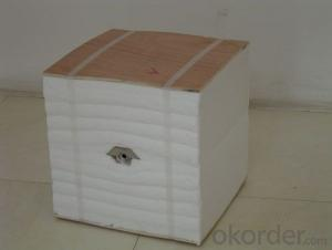 Insulation refractory ceramic fiber module