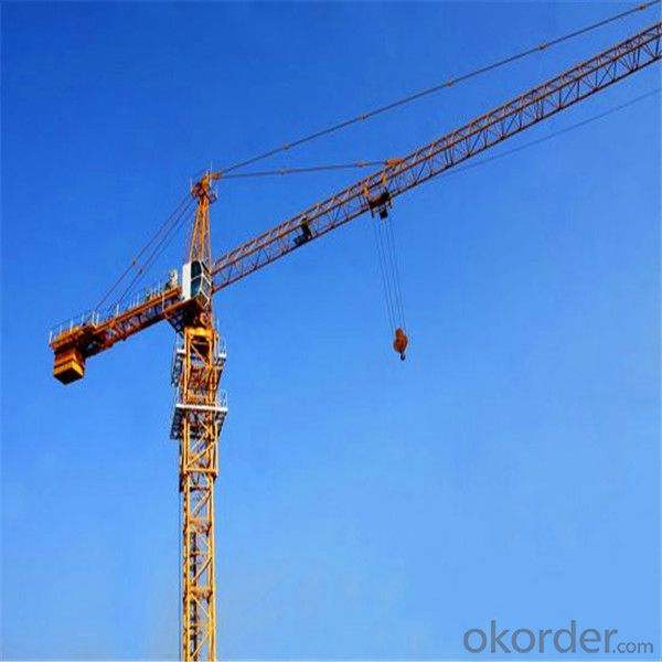 New Tower Crane for Industrial Building