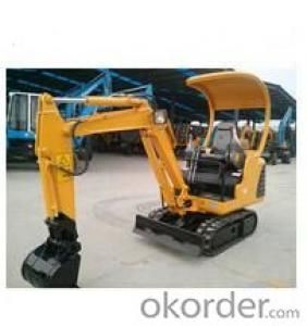 Mini crawler excavators WY15 0.05m 3 and 1.5ton