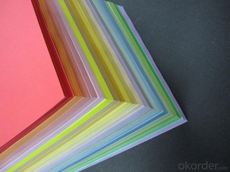 A4 Colour Copy Paper 100% Woold Pulp-high quality