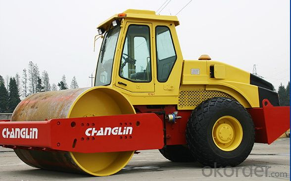 Changlin Brand Single Drum Vibratory Roller YZ12HD