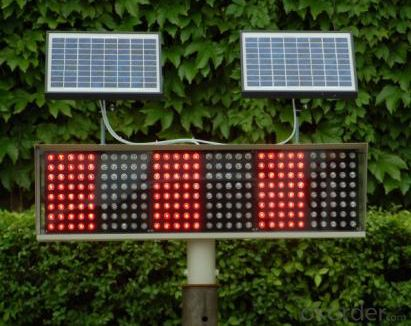 Solar Traffic Light / PV Traffic Light / Recycle