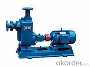 Self-Priming Sewage Pump, ZX Self-Priming Pump, Self-priming Sewage Pump
