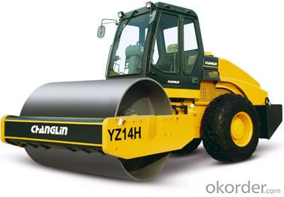 Changlin Brand Single Drum Vibratory Roller YZ14H