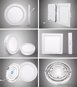 LED mini panel light Dia-casting Aluminum/ABS