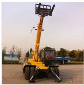 Multi telehandler 3 Tons with 3 telescopic booms