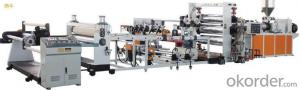 PVC Transparenct Rigid  & Soft Sheet  Extrusion Line