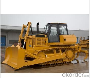 Crawler Bulldozer with Electronically Controlled Hydrostatic Transmission