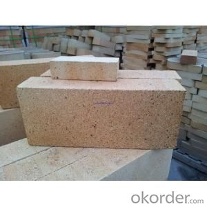 Thermal insulation fire clay brick for steel industry