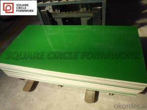 PP Plastic Plywood formply waterproof and high strength easy dismantle plastic formwork