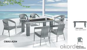 Garden Dinning Set for Outdoor Furniture with Professional production CMAX-A204