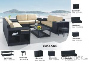 Garden Patio Outdoor Sofa with Professional Workmanship for Outdoor Furniture CMAX-A237