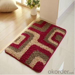Bamboo Rug / Carpet through Machine Make from China All Series