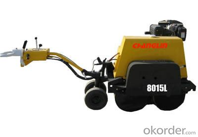 Changlin Brand Double Steel Drum Vibratory Roller 8015L