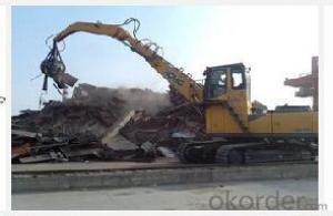 Crawler Excavator Hydraulic rotary grab 12ton