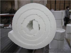 Ceramic Fibre Insulation Roll Resilient to Thermal Shock