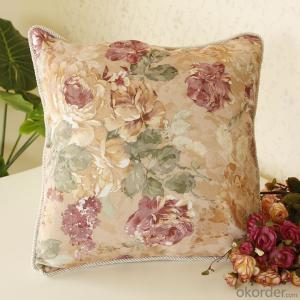 Decorative Cushion with Lined Damask for sofa