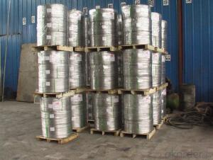 Aluminium Titanium Boron AlTi5B1 Coils sticks for Grain Refinement Application