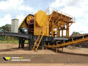 Mobile Jaw Crusher Crushing Station For Sale