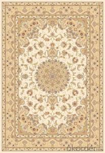 Viscose Rug Wilton Machine Modern Design Washable Area Rug