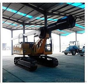 Crawler Rotary Drilling Rig Drilling diameter: 500-1500 mm
