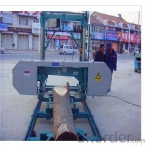 Portable Horizontal Band Sawmill Max. wood diameter: 700mm-1700mm