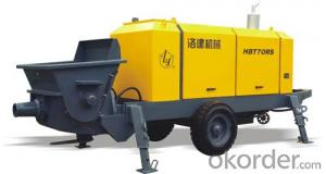 excellent modernized concrete pump HBT70RS