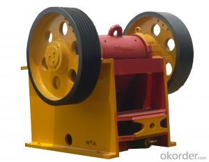 Mining Jaw Crusher PE-500x750 for Sales