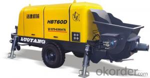 excellent modernized concrete pump HBT60