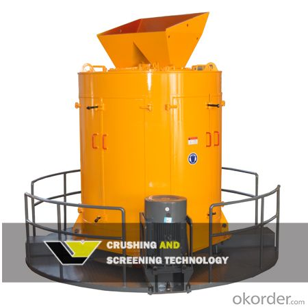 CVS Three Cavity Composite Vertical Shaft Crusher
