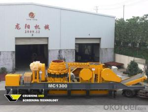 Mobile Cone Crusher Crushing Station For Sale