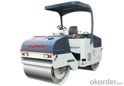 Changlin Brand Double Steel Drum Vibratory Roller 8065L