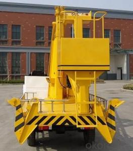ZGK12 12M lifting height, 200kg rated loads,hydraulic drive,self-propelled articulated work platform